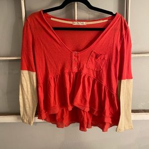 Free People top in small